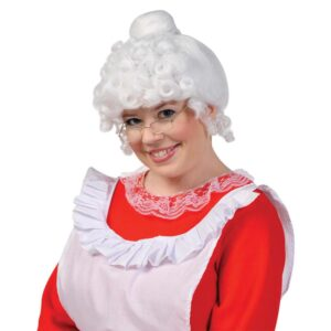 Amscan Mrs. Claus Christmas Wig