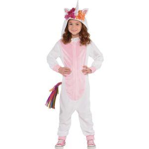 Amscan Kid's Unicorn Zipster Halloween Costume, Medium
