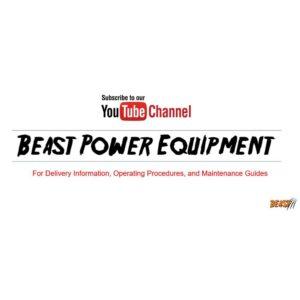 Beast 36 in. Brush Mower Deck Conversion Kit for Finish Mowers
