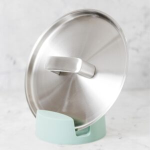 BergHOFF Leo 2-Piece Gray and Mint Ladle Holder Set