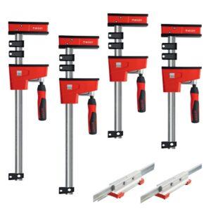 BESSEY Extender Kit Containing 2 Each of KRE3.524 KRE3.550 and KBX20 Extender