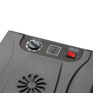 AROMA Professional 6-Tray Black Food Dehydrator with Drip Tray