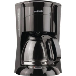 Brentwood 12-Cup Coffee Maker in Black
