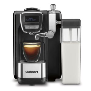 Cuisinart 1-Cup Espresso Defined Black Espresso, Cappuccino and Latte Machine
