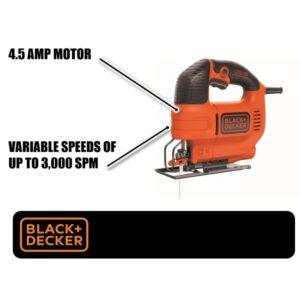 BLACK+DECKER 4.5 Amp Jig Saw