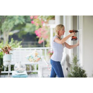 BLACK+DECKER 20-Volt MAX Lithium-Ion Cordless Combo Kit (4-Tool) with (2) Batteries 1.5Ah and Charger