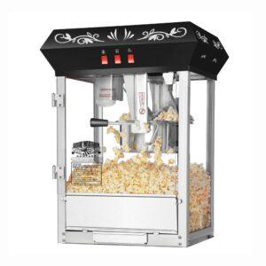 Great Northern Foundation 6 oz. Black Countertop Popcorn Machine