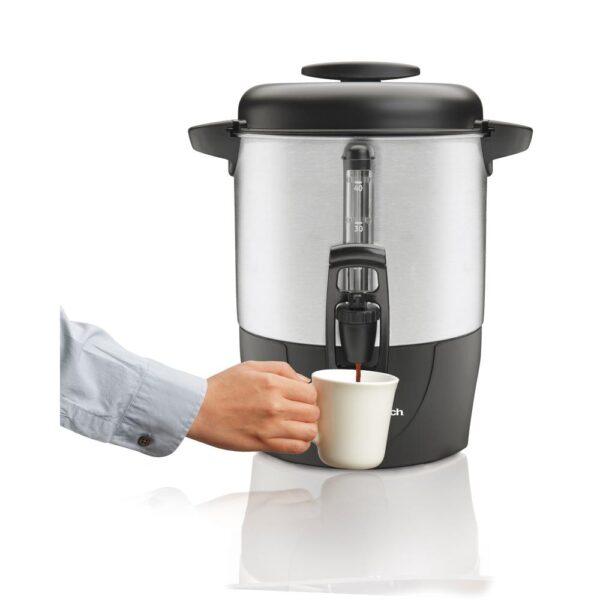Hamilton Beach 40-Cup Stainless Steel Coffee Urn