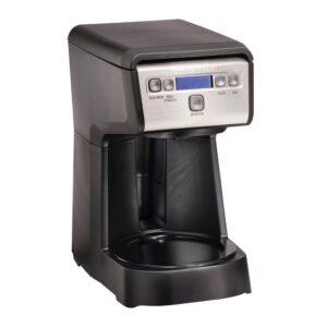 Hamilton Beach Compact 12-Cup Black Programmable Drip Coffee Maker