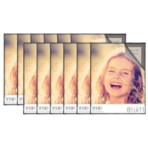 Pinnacle 12-Opening 8.5 in. x 11 in. Picture Frame
