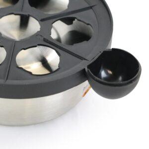 Better Chef 7-Egg Stainless Steel Egg Cooker