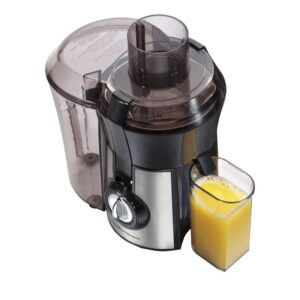 Hamilton Beach Big Mouth Pro 1 qt. Black and Stainless Steel Juice Extractor