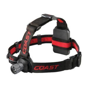Coast HL40 300 Lumen LED Headlamp with Hardhat Compatibility