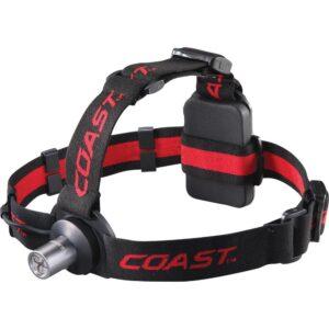 Coast HL3 100 Lumen LED Headlamp with Hardhat Compatibility