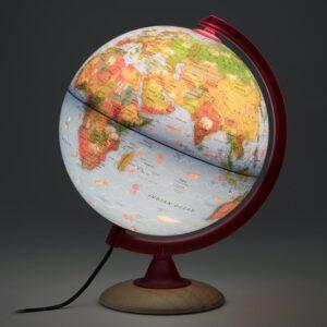 Waypoint Geographic Circus Explorer 10 in. Illuminated Desktop Globe for Kids