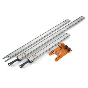 BORA WTX 24 in. and 50 in. Clamp Edges with 50 in. Extension with Connectors and Saw Plate