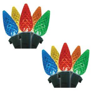 Brite Star C6 35-Light LED Multicolor Lights (Box of 2)