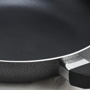 Oster Clairborne 9.5 in. Aluminum Nonstick Frying Pan in Charcoal Grey