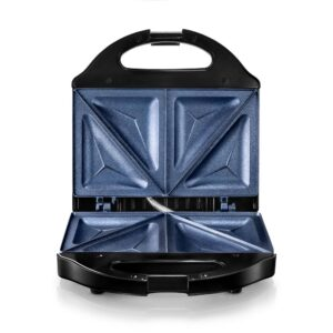 GRANITESTONE Classic Blue Non-Stick Diamond Infused Sandwich Maker