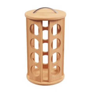 Classic Cuisine 30-Count Bamboo Coffee Pod Carousel
