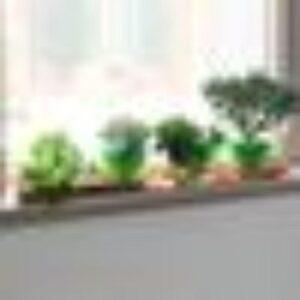Benjara 29 in. Copper Large Rectangular Metal Window Decorative Plant Tray with Trim Edges