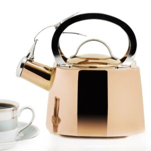 Old Dutch DuraCopper 8.45-Cup Stovetop Tea Kettle in Copper