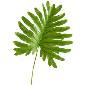 D&W Silks Indoor Jumbo Cellium Philo Leaf (Set of 3)