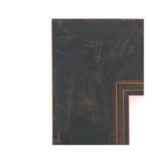 Amanti Art Milano 23 in. W x 27 in. H Framed Rectangular Bathroom Vanity Mirror in Dark Bronze