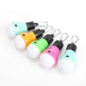 Defiant 40 Lumens LED Bulb Light with Clip (5-Pack)