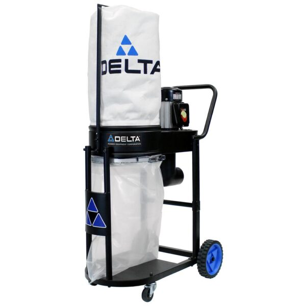 Delta 1 HP Induction Motor 750 CFM Dust Collection System