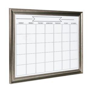 DesignOvation Macon Monthly Dry Erase Calendar Memo Board