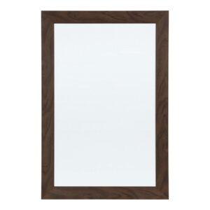 DesignOvation Beatrice Walnut Brown Dry Erase Memo Board