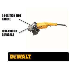DEWALT 15 Amp 5.3 HP 7 in. and 9 in. (180 mm and 230 mm) Angle Grinder