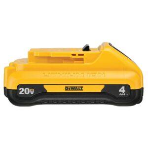DEWALT 20-Volt MAX Cordless 4-1/2 in. to 5 in. Grinder, (1) 20-Volt 4.0Ah Battery & Charger