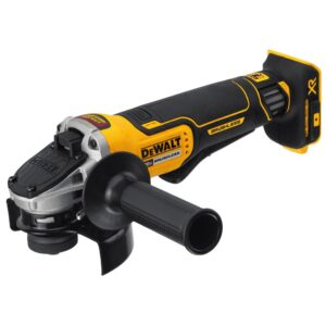 DEWALT 20-Volt MAX XR Cordless Brushless 4-1/2 in. Paddle Switch Small Angle Grinder with (2) 20-Volt 6.0Ah Batteries
