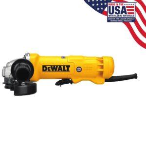 DEWALT 120-Volt 4-1/2 in. Corded Small Angle Grinder