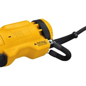 DEWALT 11 Amp Corded 4.5 in. Small Angle Paddle Switch Angle Grinder with Brake and No-Lock On