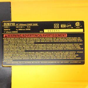 DEWALT 14 in. (355 mm) Chop Saw