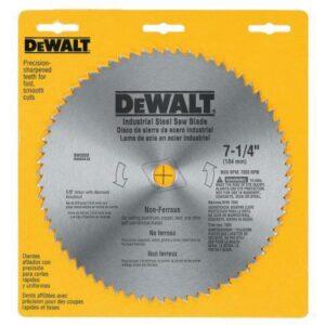 DEWALT 7-1/4 in. 68-Teeth Steel Non-Ferrous Steel Saw Blade