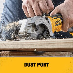 DEWALT ATOMIC 20-Volt MAX Cordless Brushless 4-1/2 in. Circular Saw with (1) 20-Volt Battery 4.0Ah