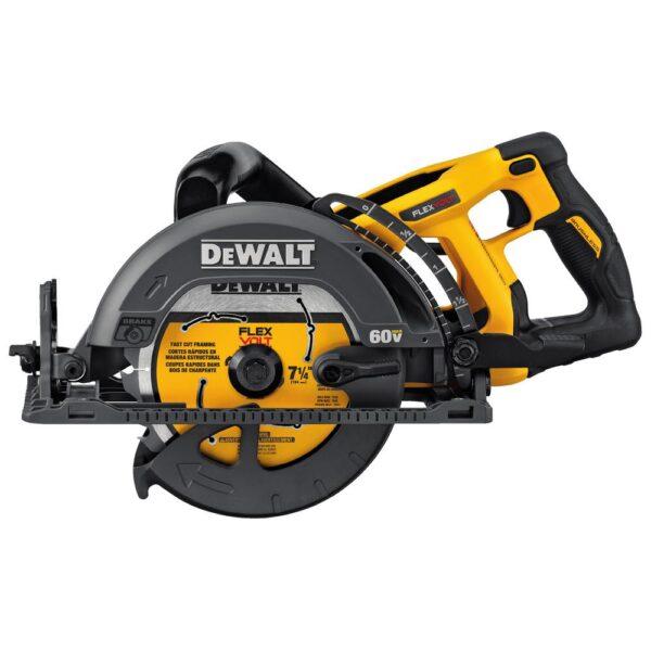 DEWALT FLEXVOLT 60-Volt MAX Cordless Brushless 7-1/4 in. Wormdrive Style Circular Saw (Tool-Only)