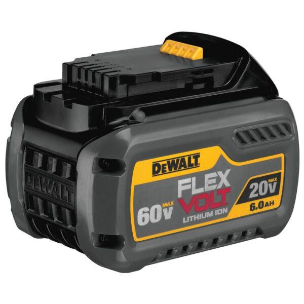DEWALT FLEXVOLT 60-Volt MAX Cordless Brushless 7-1/4 in. Wormdrive Style Circular Saw with (1) FLEXVOLT 6.0Ah Battery