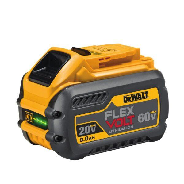 DEWALT FLEXVOLT 60-Volt MAX Cordless Brushless 7-1/4 in. Circular Saw with Brake with (1) FLEXVOLT 9.0Ah Battery