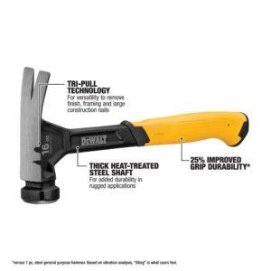 DEWALT 16 oz. Steel Claw Hammer
