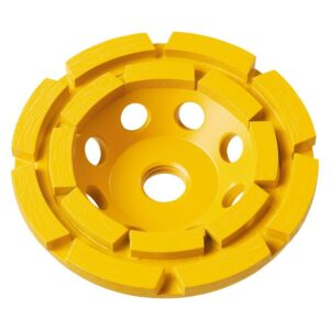 DEWALT 7 in. Double Row Diamond Cup Grinding Wheel