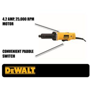 DEWALT 120-Volt 1-1/2 in. Corded Die Grinder without Lock-On