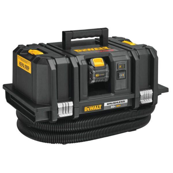DEWALT FLEXVOLT 60-Volt MAX Cordless Dust Extractor Kit with (2) FLEXVOLT 6.0Ah Batteries