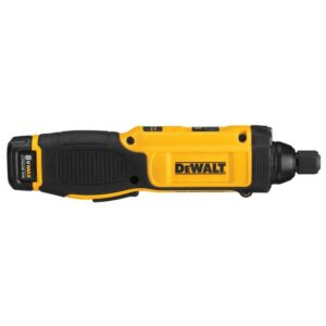 DEWALT 8-Volt MAX Cordless 1/4 in. Hex Gyroscopic Screwdriver, (1) 1.0Ah Battery, Charger & Bag