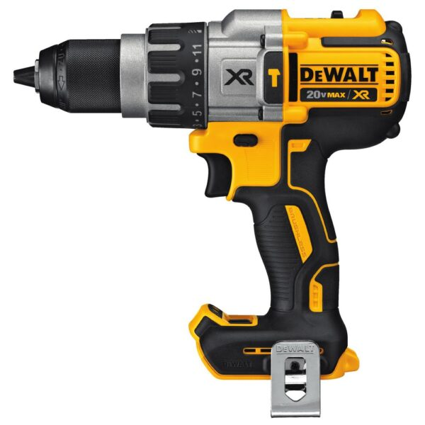 DEWALT 20-Volt MAX XR Cordless Brushless 3-Speed 1/2 in. Hammer Drill with (1) 20-Volt 5.0Ah Battery