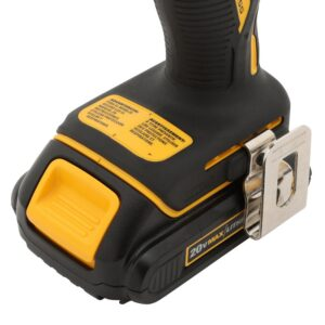 DEWALT ATOMIC 20-Volt MAX Cordless Brushless Compact 1/4 in. Impact Driver, (1) 20-Volt 1.3Ah Battery, Charger & Bag